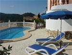 Costa Blanca vrijst. Villa met prive zwembad