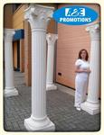 xl griekse zuilen huren romeinse pilaren brugge