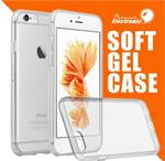 Ultra dun case hoes transparant siliconen gel hoesje Iphone
