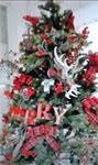 Een versierde kerstboom huren voor je feest...
