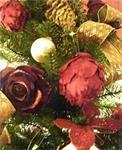 Levering kerstboom afbeeldingen versieringen...