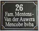 EMAILLE NAAMBORDEN naamplaat naambord