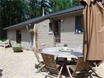 Chalet voor 9p met sauna en jacuzzi (privé)