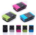 MP3 speler mini shuffle draagbare sport micro sd + clip *5 k