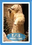 vitrinefiguren ijsbeer verhuur gent brugge knokke