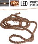 Jute touw met ledverlichting - 1.50 meter outLEDje
