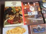 Kookboeken,met meus en vork,peutervoeding,gezond