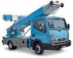 Ladderlift  verhuislift  meubellift bestelwagen