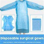 Wegwerp chirurgische jurk Eenmalige schorten