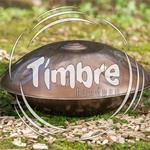 Timbre mini handpan C Amara RVS, stainless steel