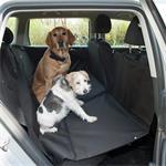 Polyester autodekens voor uw hond op achterbank.