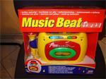 Nieuw verpakte cassettespeler met microfoon