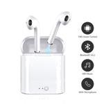 Bluetooth in-ear oortjes in ear draadloos i7s DUBBEL *5 kleu