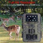 Wildlife camera buiten jacht camera nachtzicht 20MP FULLHD w