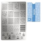 Moyra Stamping Plate 71 Frozen
