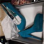 pumps blauw 38