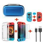 Kit 6 en 1 pour Nintendo Switch - NS sac de rangement / étui
