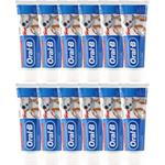 Oral-B Junior Tandpasta Star Wars Multi Pack - 12 x 75 ml