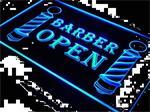 Kapper barber open neon bord lamp LED verlichting reclame li