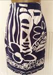 Prachtig Vintage Rokje met Print van Ouiset - 38