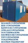 Goedkoop containers en units bij fa. Boonen huren
