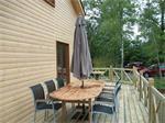 SUPERRUIME chalet (bj2012) met ir sauna!!