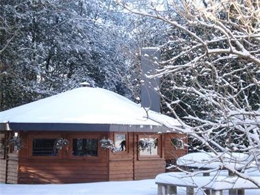Grote foto kerst ardennen uniek vakantiehuis 15 26p vakantie belgi