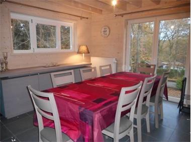 Grote foto splinternieuwe luxe chalet met sauna . hond ok vakantie belgi