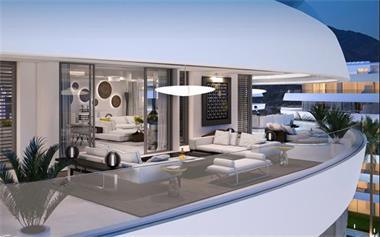 Moderne luxe appartementen marbella costa del sol for Luxe vakantie appartementen