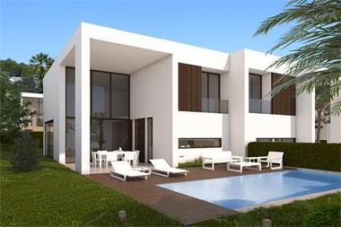 Moderne luxe nieuwbouw villa s kopen costa blanca for Luxe villa te koop oost vlaanderen