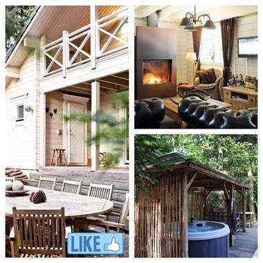 Grote foto luxe chalet met sauna en jacuzzi topper vakantie belgi