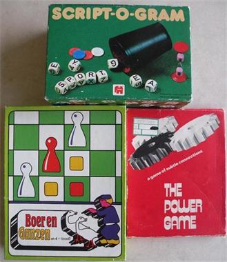 Grote foto 3 spellen. hobby en vrije tijd gezelschapsspellen overige