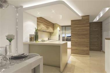 Nieuwe moderne stijl schakel woningen in marbella spaanse kust - Moderne keuken stijl fotos ...