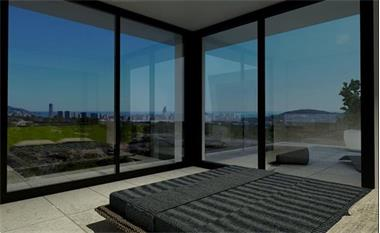 Grote foto moderne zeezicht villa s finestrat costa blanca vakantie spaanse kust