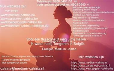 Grote foto medium catrina erkend in de benelux belgi diensten en vakmensen coaching en persoonlijke effectiviteit