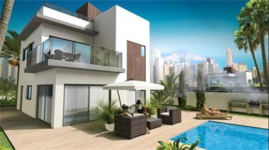 Grote foto nieuwbouw villa s finestrat hills costa blanca vakantie spaanse kust