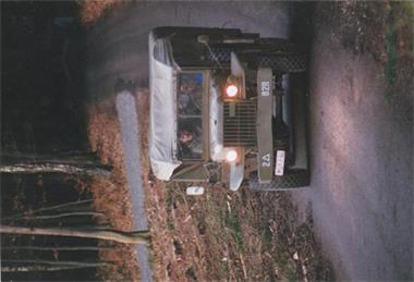 Grote foto oorlogs voertuig ww62 auto dodge
