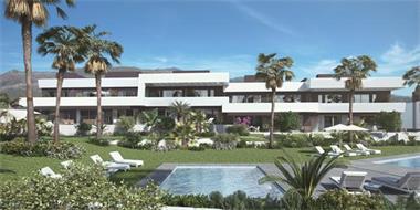 Grote foto moderne appartementen la cala de mijas vakantie spaanse kust