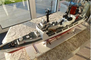 Grote foto u.s.coast guard 724 munro 1 96 hobby en vrije tijd boten en schepen