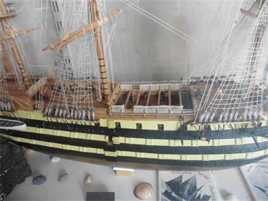 Grote foto hms victory 1 90 mamoli hobby en vrije tijd boten en schepen