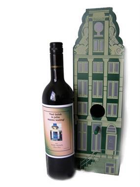 Grote foto wijngeschenk nieuwe woning in huis kistje huizen en kamers overige te koop