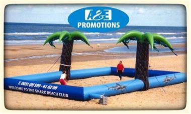 Grote foto shark beach club strand spelen huren gent brugge diensten en vakmensen creatief