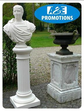 Grote foto xl griekse zuilen huren romeinse pilaren brugge diensten en vakmensen themafeestjes