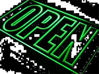 OPEN Neon Bord Lamp LED 3D Verlichting Reclame Lichtbak #12 KOpen ...