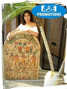 Grote foto egyptische props verhuur kameel xl oase palmen hobby en vrije tijd evenementen
