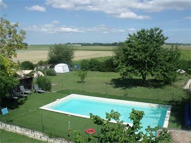 Grote foto grote woning met gite minicamping en zwembad huizen en kamers bestaand europa