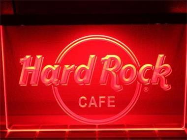 Hard Rock Neon Bord Lamp LED 3D Verlichting Reclame Lichtbak Kopen ...