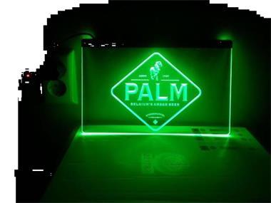 Palm Neon Bord Lamp LED 3D Cafe Verlichting Reclame Lichtbak Kopen ...
