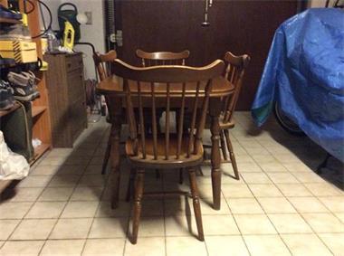 Stoel Te Koop : Te koop: eiken tafel 4 stoelen kopen eettafels