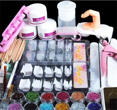 Grote foto gelnagels acryl nagel styling set nailart gel startpakket d beauty en gezondheid make up sets